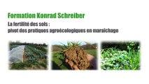 Formation MSV K Schreiber partie 9 Thèmes : Chimie et biologie du sol : argiles, humus, CEC, enzymes
