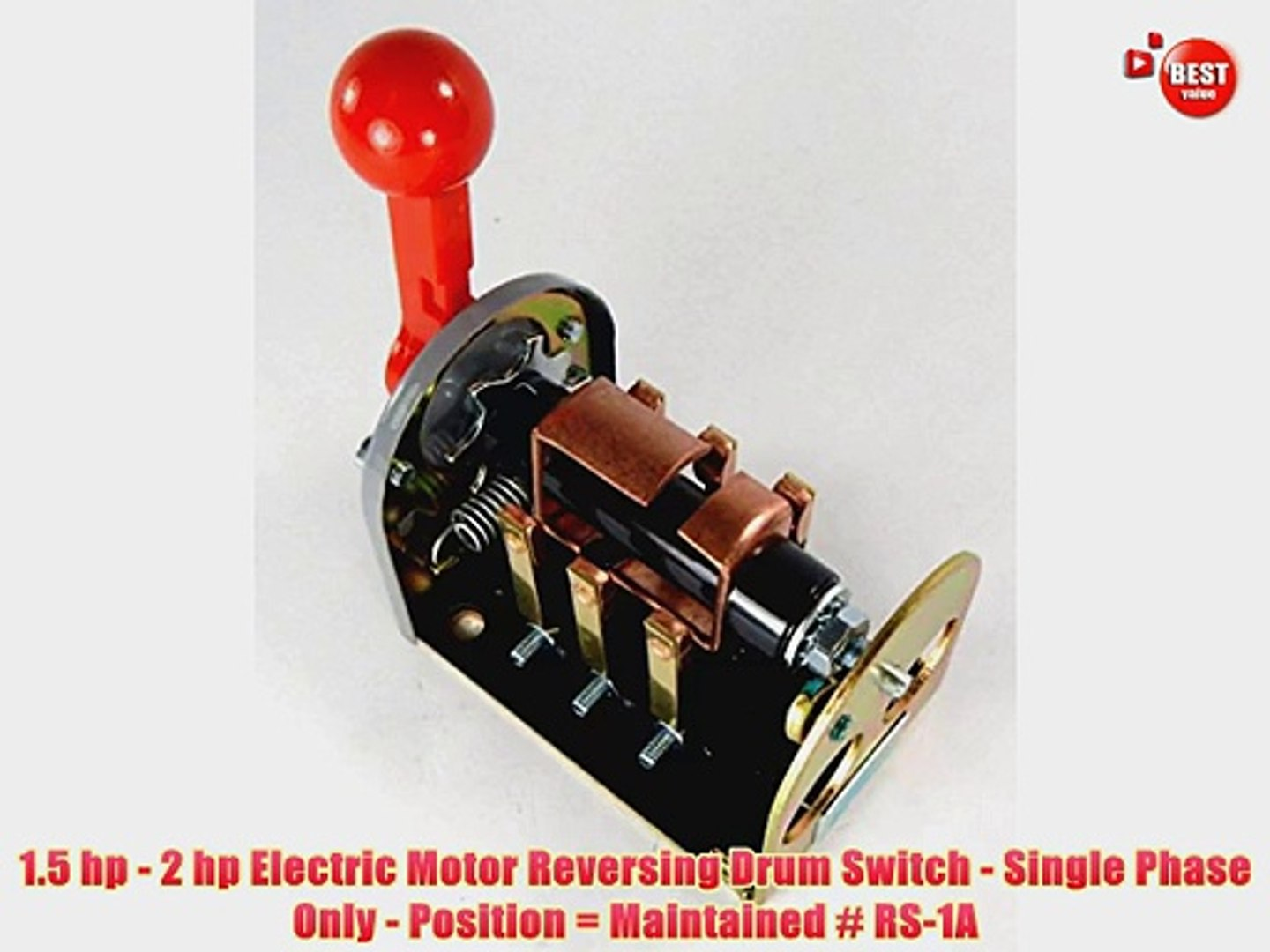 1 5 Hp 2 Hp Electric Motor Reversing Drum Switch Single Phase Only Position Video Dailymotion