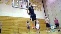 Le dunk incroyable de Jordan Kilganon