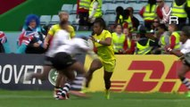 Big Rugby Hits, Fends, and Hard Runs: #London7s HD