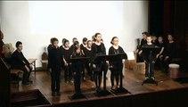 """Assises départementales de l'Aisne """" Vivre ensemble """" - Prestation scénique des CM1 de l'école de Pouilly sur Serre (02)"""
