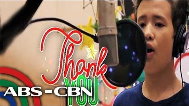 Christmas station ID ng ABS-CBN, ipinasilip