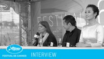MOUNTAINS MAY DEPART -interview- (vf) Cannes 2015