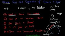 FSc Chemistry Book2, CH 16, LEC 5; Ozone Gas and Depletion of Ozone Layer