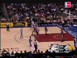 Pau Gasol no look pass to Lamar for the and one (02/24/08)