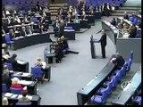 Volker Kauder in der Haushaltsdebatte 2009 des Bundestages