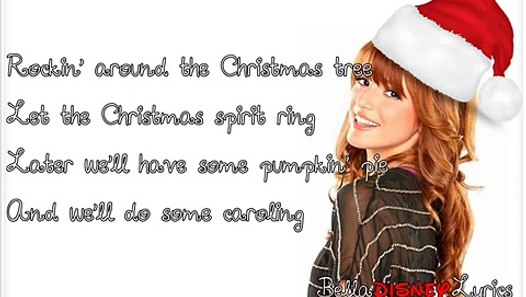 """Rockin' Around The Christmas Tree"" - Bella Thorne (Lyrics Video) - video dailymotion"