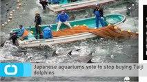 Japanese Aquariums Vote to Stop Buying Taiji Dolphins