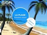 Biofeedback de Cohérence Cardiaque sur iPhone : La plage