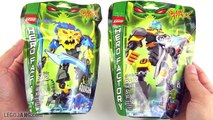 Hero Factory EVO + Aquagon combination (Brain Attack wave 2)