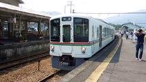 西武4000系 上長瀞駅発車 Seibu 4000 series EMU