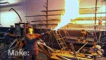 Maker Profile - Fire Sculpture on MAKE: television