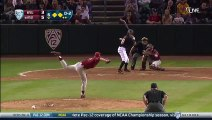 Crazy Baseball moment : Batter Hit By Pitch Catches Ball, Throws It Back To Pitcher