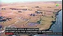 Mercosur apoya a Argentina en conflicto de Islas Malvinas