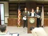 Immigration raid press conference in Cedar Rapids, Iowa
