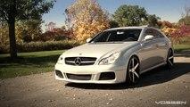 "Mercedes Benz CLS550 on 20"" Vossen VVS-CV3 Concave Wheels / Rims"