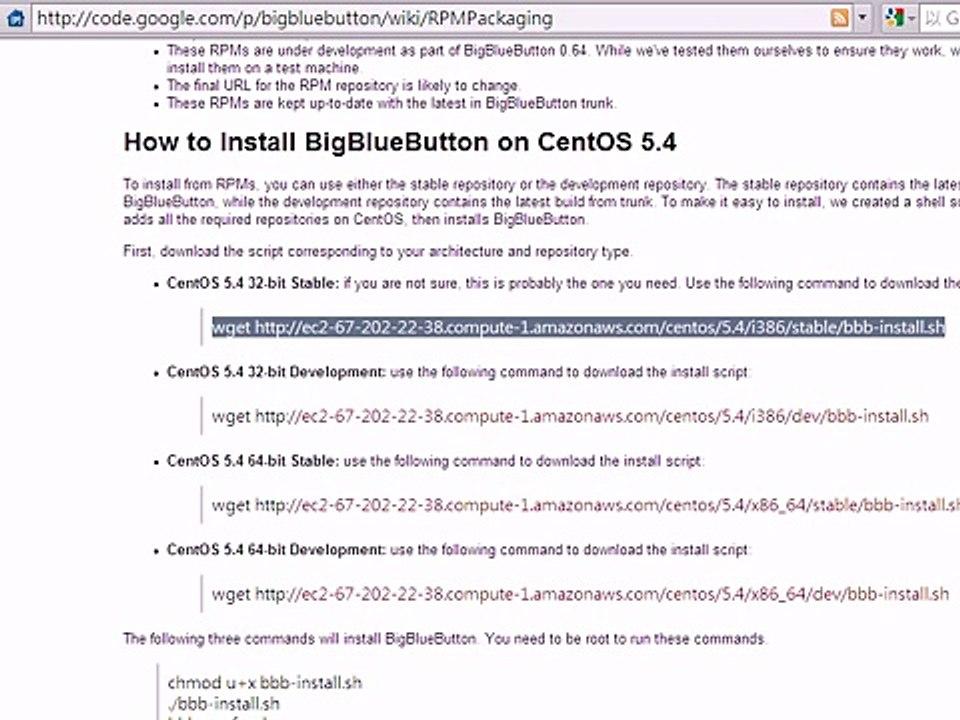 Bigbluebutton CentOS install failed_1