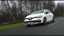The limited-edition Renault Clio R.S. 220 EDC Trophy Driving Video Trailer