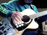 Il invente linstrument Guitare-Batterie
