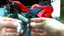 How To: Install Bike Swingarm Spools