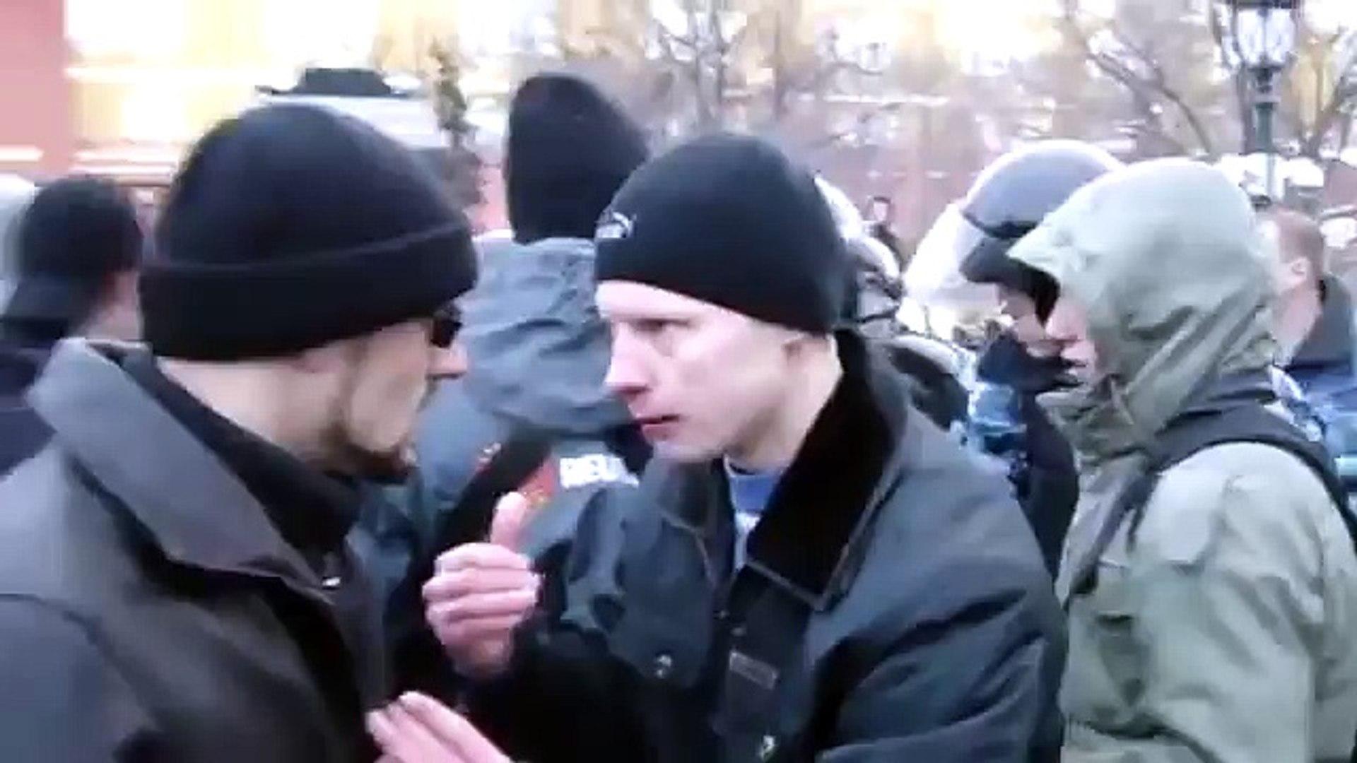 События на Манежной площади 11 декабря 2010