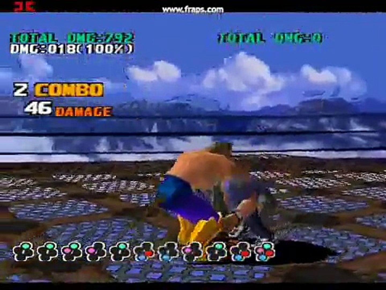 tekken 5 king grab combo