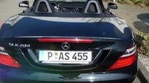 Mercedes-Benz SLK 200 SLK 200 BlueEFFICIENCY Roadster PSD/Sportpaket