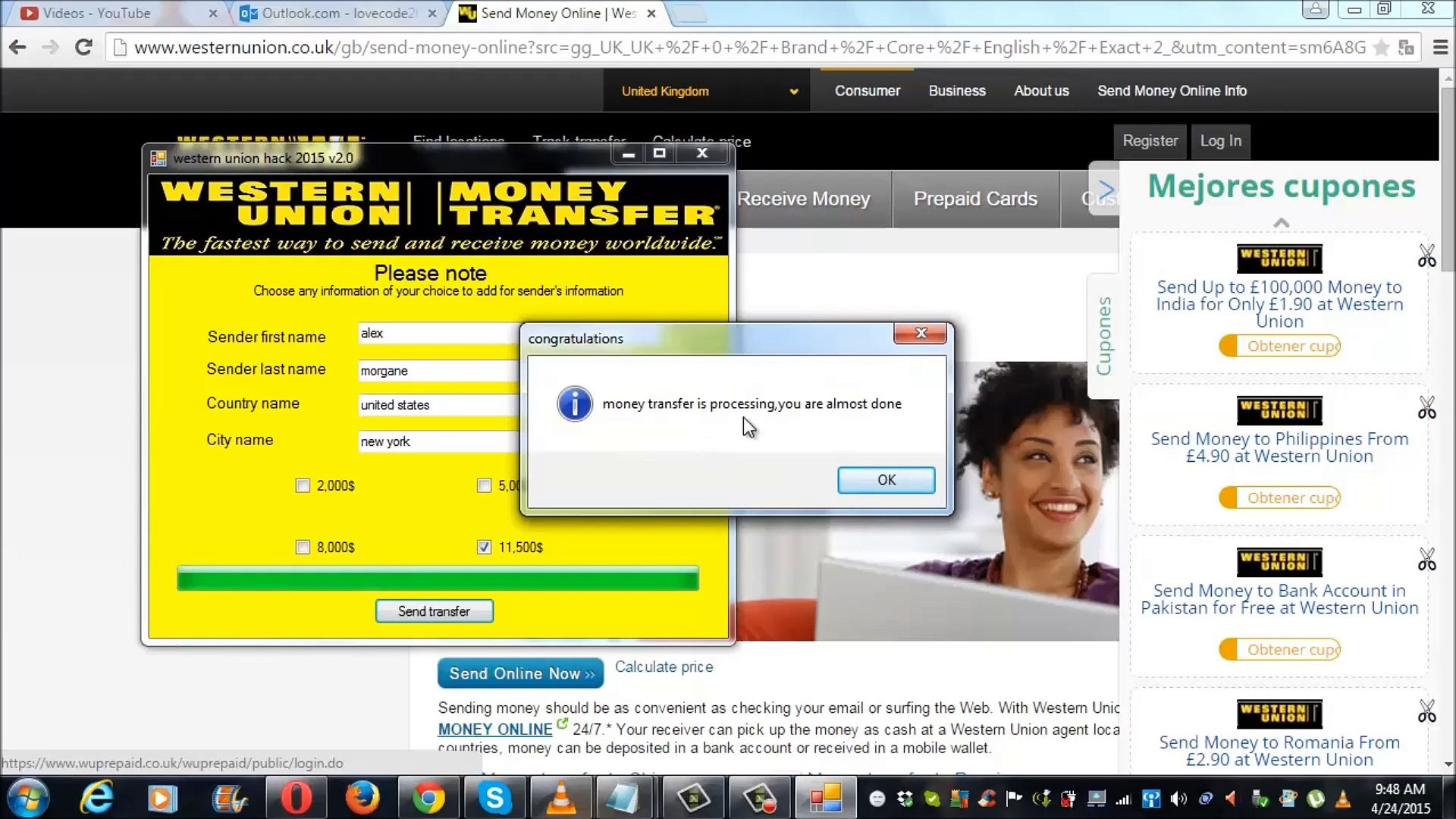 western union hack software 2015