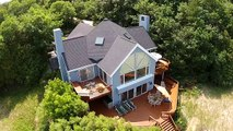 Drone View of Magnificent Lake Michigan Home for Sale in Harbor Springs, MI