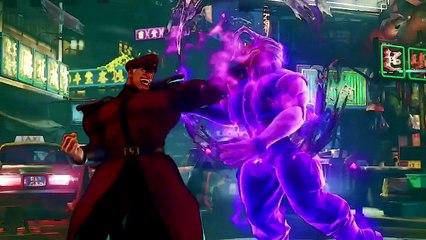 Street Fighter 5 - M. Bison est de retour
