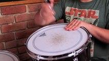 Como tocar la bateria // Curso para principiantes - Como afinar la bateria (HD)