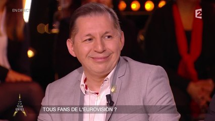 "O. Cachin : ""L'Eurovision c'est Jurassic Park"""
