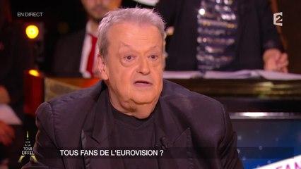 Commenter l'Eurovision, tout un art selon Guy Carlier