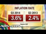 How higher inflation rate affects Pinoys