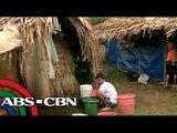 Mayon evacuees, kanya-kanyang tayo ng kubo