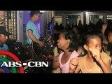 PNP band, nagbigay aliw sa Albay evacuees