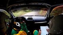 Aquilino Sanchez - David Sanchez (Renault Clio Sport) Rallye Villa de Llanes[Crash & Broken Engine]