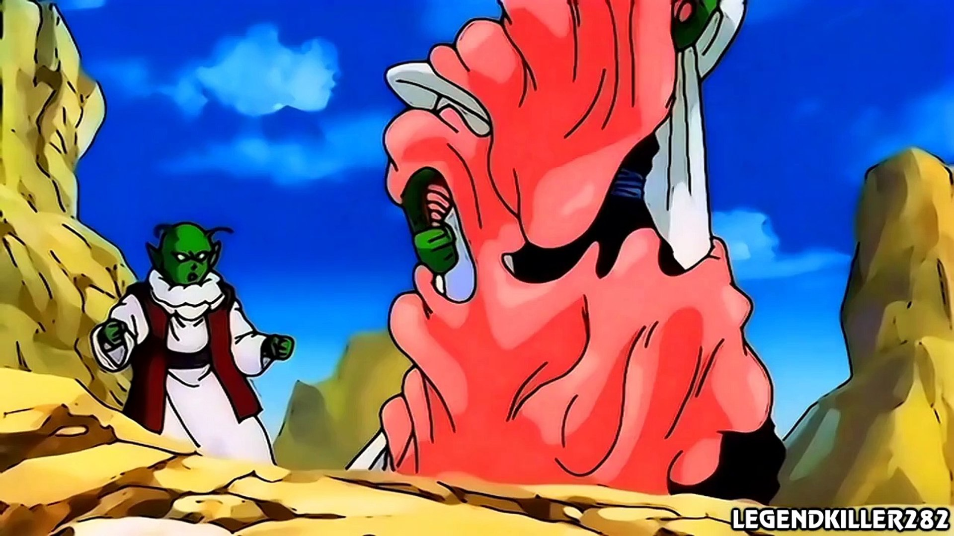 Super Buu Absorbs Gotenks And Piccolo 1080p Hd Video Dailymotion