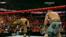 WWE HD - John Cena & Randy Orton (RKO + FU) CO-Finishing Move BEST FINSHER