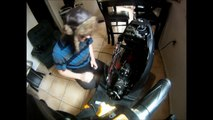 Keeway superlight 125 chinese motorcycle crank no spark start
