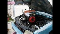 The Junkyard runs 11.99@117 on a 140hp $90 Dodge Caravan motor from the junkyard. First pass.