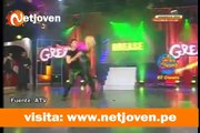 El Gran Chongo: Gringo Karl y Belén Estevez  bailan Grease en Magaly Teve