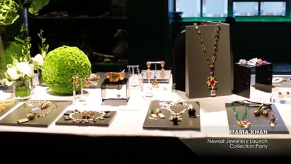 MARIA KHAN Newest Jewellery Launch Collection Party