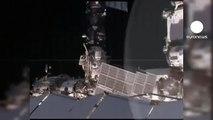 Spacewalk for ISS cosmonauts