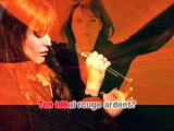 KARAOKE AXELLE RED - Rouge ardent