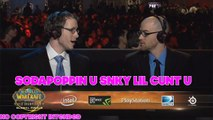 Sodapoppin Trolling Blizzcon Shoutcasters - Arena Grand Final World of Warcraft
