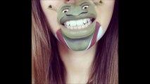 Maquillages de bouche magique - Personnages de dessins animés Disney, South park...