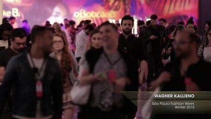 WAGNER KALLIENO São Paulo Fashion Week Winter 2015