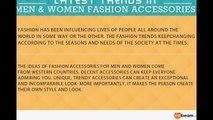 Latest Fashion Trends - Men & Women Fashion Accessories Trends