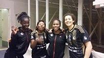 Les joueuses d'Issy Paris soutiennent Coralie Lassource ! (All-Star LFH)